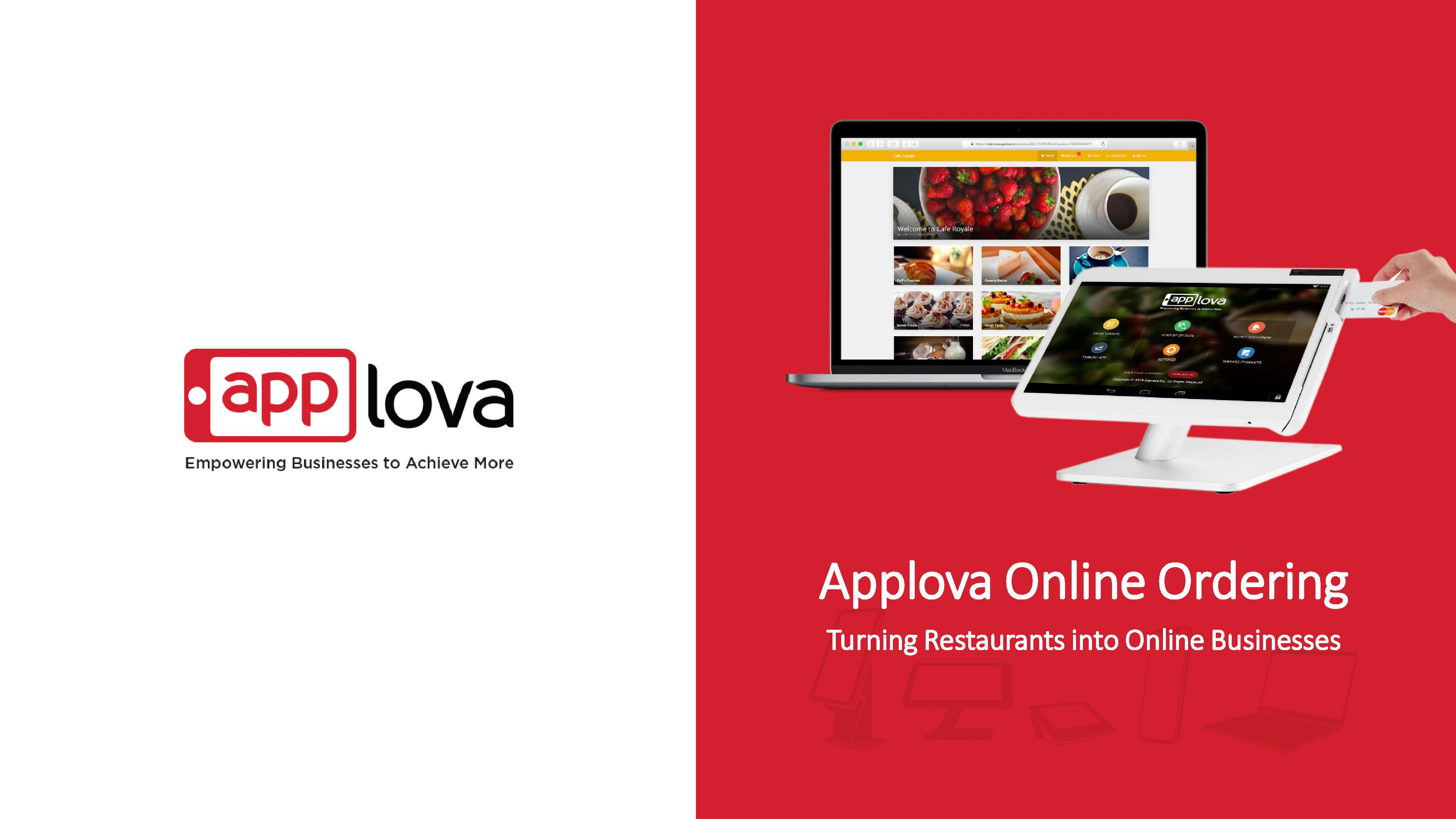 Applova Curbside Online Ordering platform for more business-page-001